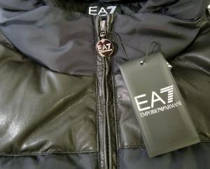 No.5 ジャケット 中綿 着脱フード付 エンポリオアルマーニ EA7