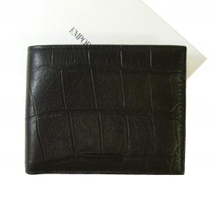 アルマーニ 財布 エンポリオアルマーニ 二つ折 (ブラック) MainPhoto
