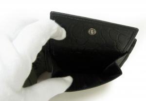 No.7 財布 エンポリオアルマーニ 二つ折 (ブラック)