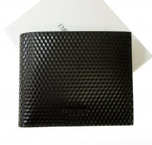 エンポリオアルマーニ 財布 二つ折(ブラック)