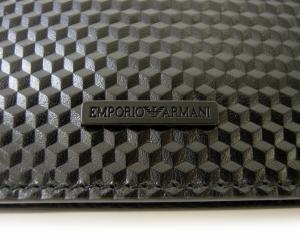 No.4 財布 エンポリオアルマーニ 二つ折(ブラック)