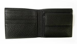 No.4 財布 ジョルジオアルマーニ 二つ折 メンズ (ブラック)