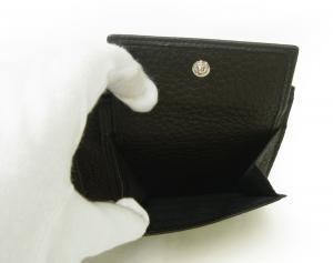 No.6 財布 ジョルジオアルマーニ 二つ折 メンズ (ブラック)