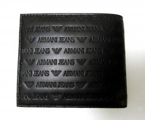 No.2 ジーンズ 財布 二つ折 レザー メンズ (ブラック)