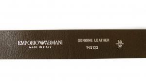 No.5 ベルト  95cm(ブラウン) 牛革  長さ調整不可 エンポリオアルマーニ
