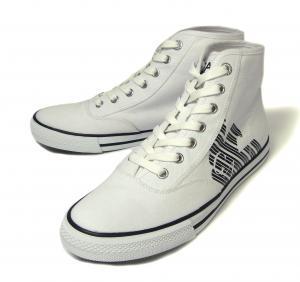 アルマーニ スニーカー シューズ 靴 ハイカット (ホワイト) EA7 メンズ