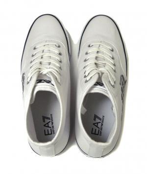No.3 スニーカー シューズ 靴 ハイカット 7.5(日本サイズ約25.5cm) (ホワイト) EA7 メンズ