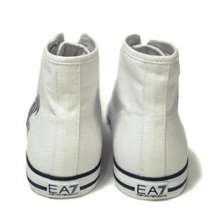 No.4 スニーカー シューズ 靴 ハイカット 7.5(日本サイズ約25.5cm) (ホワイト) EA7 メンズ