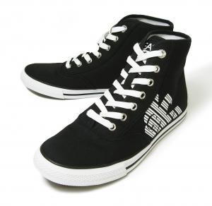 アルマーニ スニーカー シューズ 靴 ハイカット (ブラック) EA7 メンズ 8(日本サイズ約26cm)