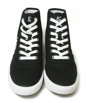 No.2 スニーカー シューズ 靴 ハイカット (ブラック) EA7 メンズ 8(日本サイズ約26cm)