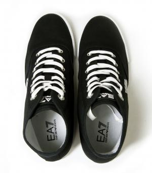 No.3 スニーカー シューズ 靴 ハイカット (ブラック) EA7 メンズ 8(日本サイズ約26cm)