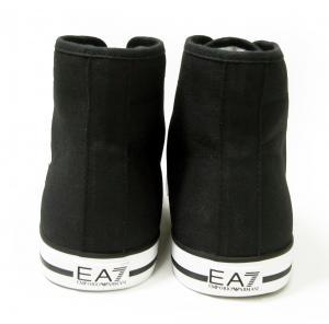 No.4 スニーカー シューズ 靴 ハイカット (ブラック) EA7 メンズ 8(日本サイズ約26cm)