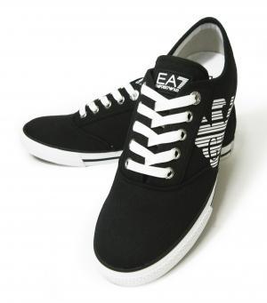 アルマーニ スニーカー メンズ シューズ 靴 8サイズ(日本サイズ約26cm)(ブラック) エンポリオアルマーニ EA7 MainPhoto