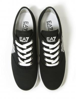 No.3 スニーカー メンズ シューズ 靴 8サイズ(日本サイズ約26cm)(ブラック) エンポリオアルマーニ EA7