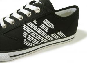 No.5 スニーカー メンズ シューズ 靴 8サイズ(日本サイズ約26cm)(ブラック) エンポリオアルマーニ EA7