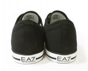 No.6 スニーカー メンズ シューズ 靴 8サイズ(日本サイズ約26cm)(ブラック) エンポリオアルマーニ EA7