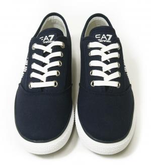 No.2 スニーカー メンズ シューズ 靴 7.5(日本サイズ約25.5cm) (ネイビーブルー) EA7
