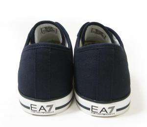 No.6 スニーカー メンズ シューズ 靴 7.5(日本サイズ約25.5cm) (ネイビーブルー) EA7