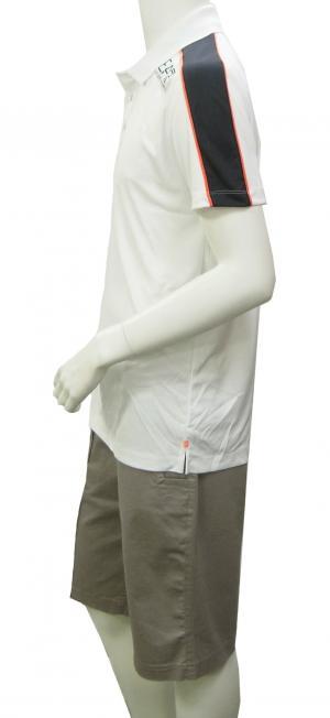 No.5 ポロシャツ ホワイト メンズ ゴルフ エンポリオアルマーニ EA7