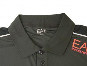 No.2 ポロシャツ ダークグレー メンズ ゴルフ エンポリオアルマーニ EA7