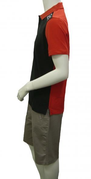No.3 ポロシャツ 黒に近いブルー メンズ ゴルフ エンポリオアルマーニ EA7