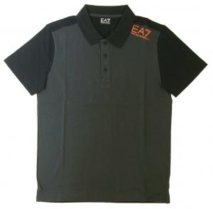 エンポリオアルマーニ ポロシャツ ダークグレー メンズ ゴルフ Mサイズ  EA7