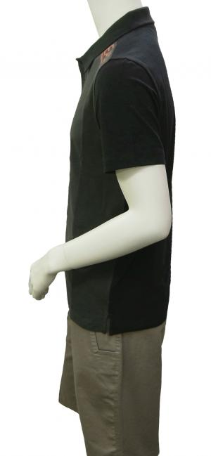 No.4 ポロシャツ ダークグレー メンズ ゴルフ Mサイズ エンポリオアルマーニ EA7