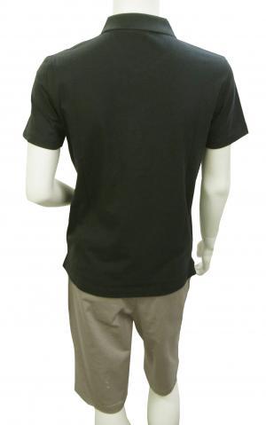 No.5 ポロシャツ ダークグレー メンズ ゴルフ Mサイズ エンポリオアルマーニ EA7