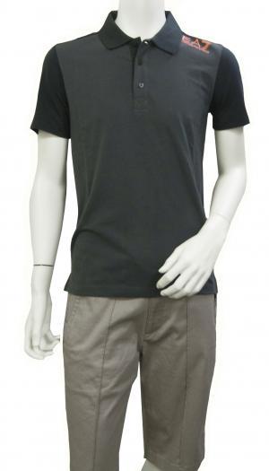 アルマーニ ポロシャツ ダークグレー メンズ ゴルフ Sサイズ エンポリオアルマーニ EA7 MainPhoto