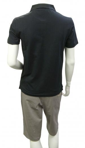 No.5 ポロシャツ ダークグレー メンズ ゴルフ Sサイズ エンポリオアルマーニ EA7