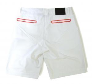 No.2 ハーフパンツ ホワイト バミューダ ゴルフ用 エンポリオアルマーニ EA7