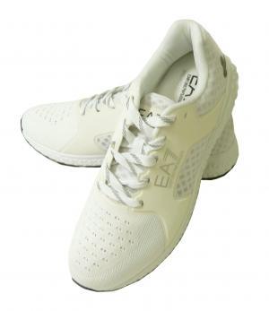 アルマーニ スニーカー メンズ シューズ 靴 ホワイト エンポリオアルマーニ EA7