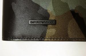 No.7 長財布 二つ折り(迷彩 グリーン) エンポリオアルマーニ