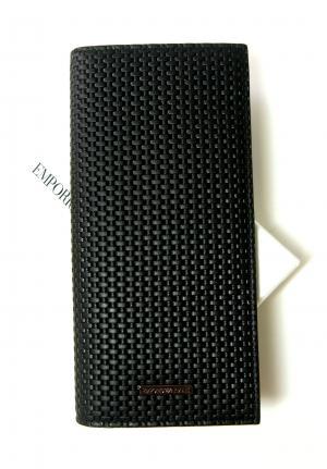 エンポリオアルマーニ 長財布 二つ折り(ブラック)