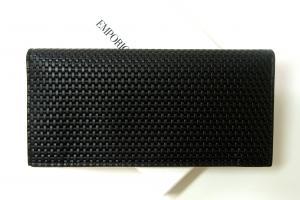 No.2 長財布 二つ折り(ブラック) エンポリオアルマーニ