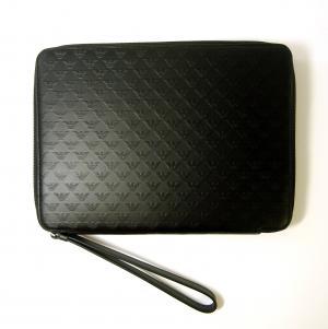 No.2 タブレットケース セカンドバッグ クラッチ ポーチ(ブラック)