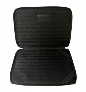 No.5 タブレットケース セカンドバッグ クラッチ ポーチ(ブラック)