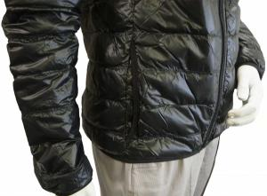 No.10 ダウンジャケット ライトダウン  エンポリオアルマーニ EA7 (ブラック)