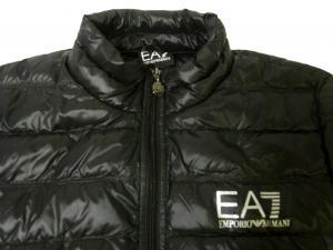 No.4 ダウンジャケット ライトダウン  エンポリオアルマーニ EA7 (ブラック)
