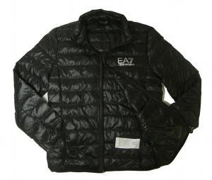 No.5 ダウンジャケット ライトダウン  エンポリオアルマーニ EA7 (ブラック)