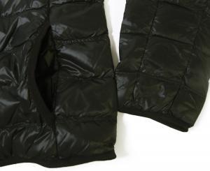 No.7 ダウンジャケット ライトダウン  エンポリオアルマーニ EA7 (ブラック)