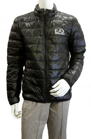 No.8 ダウンジャケット ライトダウン  エンポリオアルマーニ EA7 (ブラック)