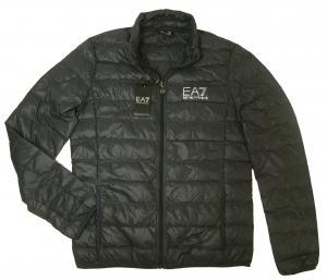 No.2 ダウンジャケット ライトダウン Mサイズ エンポリオアルマーニ EA7 (ダークグレー)
