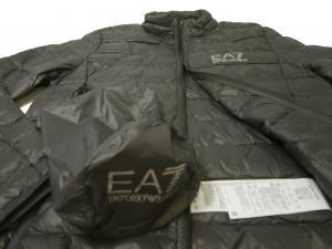 No.5 ダウンジャケット ライトダウン Mサイズ エンポリオアルマーニ EA7 (ダークグレー)