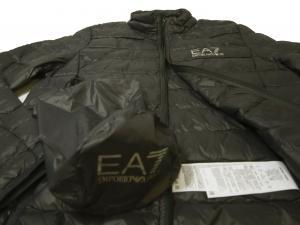 No.4 ダウン ジャケット フード ライトダウン XLサイズ エンポリオアルマーニ EA7