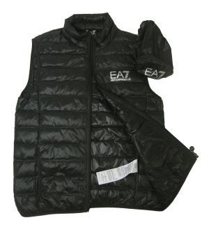 No.3 ダウンベスト ライトダウン (ブラック) エンポリオアルマーニ EA7