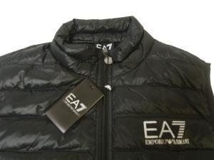 No.5 ダウンベスト ライトダウン (ブラック) エンポリオアルマーニ EA7