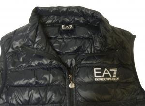 No.4 ダウン ベスト ライトダウン(ナイトブルー)Mサイズ エンポリオアルマーニ EA7