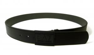 No.4 ベルト リバーシブル (ブラック×ダークグレー) 長さ調整可能 EA7