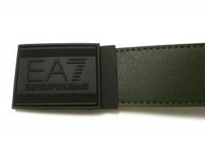 No.4 ベルト リバーシブル (フォレストナイト×ダークグリーン) 長さ調整可能 EA7